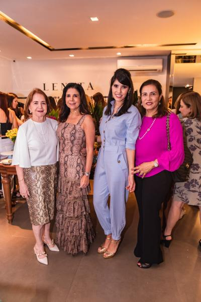 Lenita Negrao, Maria Lucia Negrao, Flavia Laprovitera e Marcia Teixeira