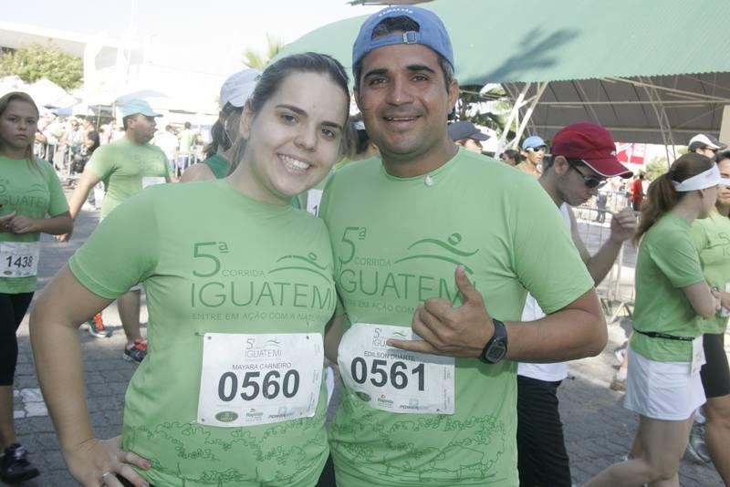 Mayara Carneiroi e Edilson Duarte