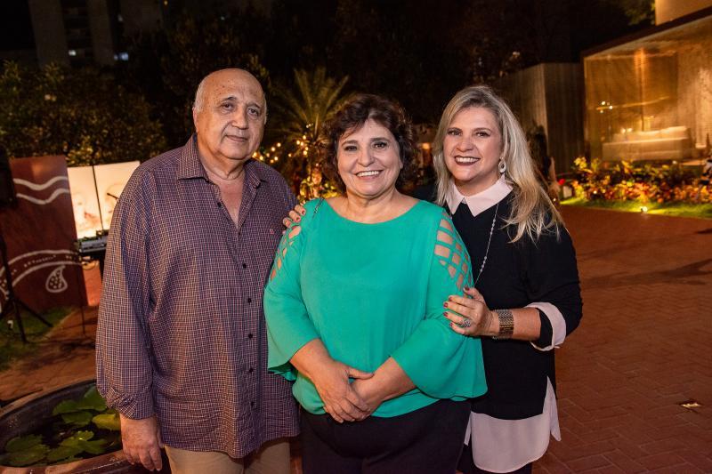 Epitacio Vasconcelos, Socorro Trindade e Elana Pontes