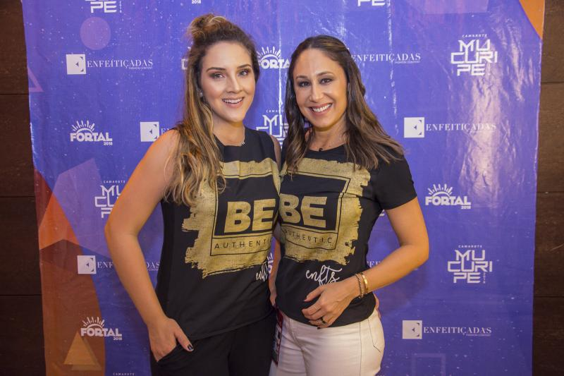 Natalia Marques e Larissa Coelho