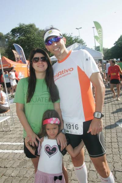 Tatiana Camara, Andre Veras e Amanda Camara