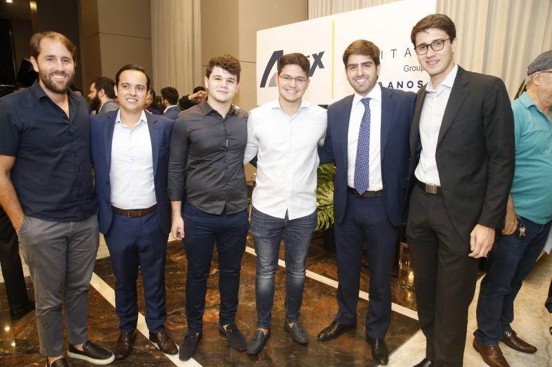 Rodrigo Frota, Otavio e Edson Queiroz IV, Edgar Ximenes Neto e Alberto Saboia