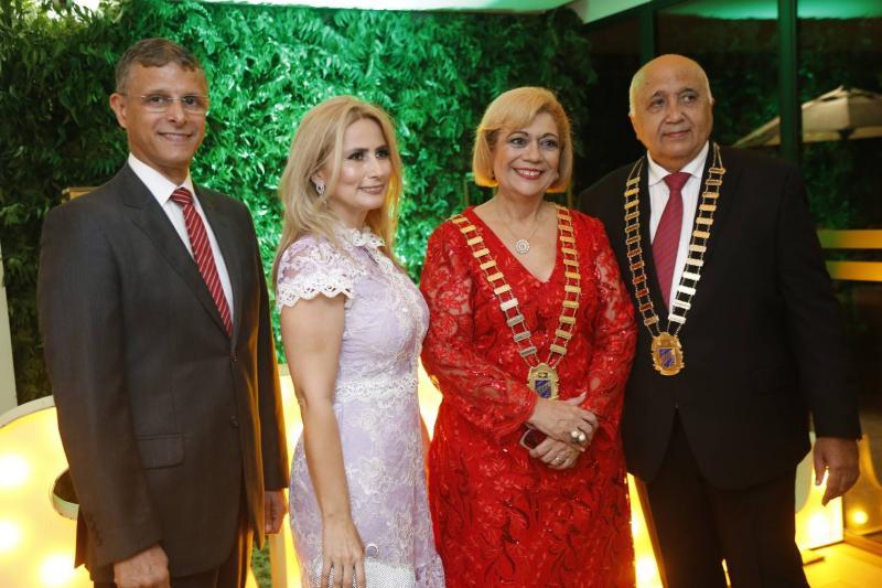 Luiz Jose Souza, Linda Nunes, Priscila Cavalcante e Epitacio Vasconcelos