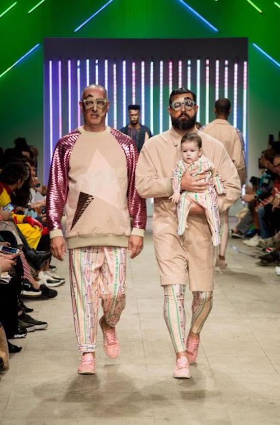 Havaianas mostra que também é fashion ao desfilar na semana de moda Casa de Criadores