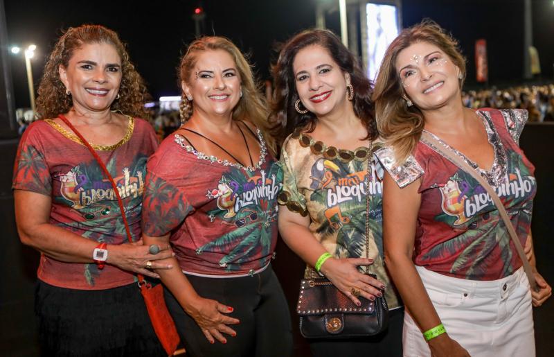 Madalena Feijao, Beth Pinho, Martinha Assunçao e Cris Lima