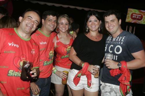 Antomario da Hora, Duda Soares, Isara Parente, Juliana Albuquerque e Luiz Guerra