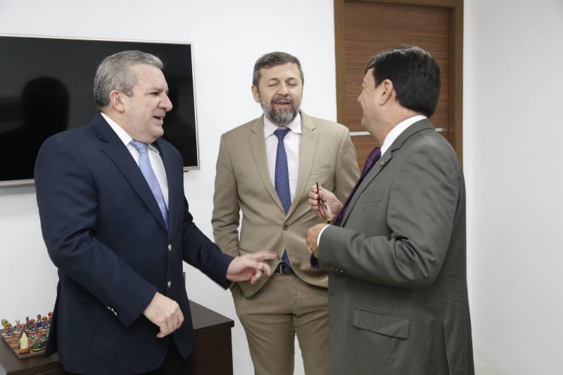 Jaime Cavalcante, Elcio Batista e Benigno Junior 1