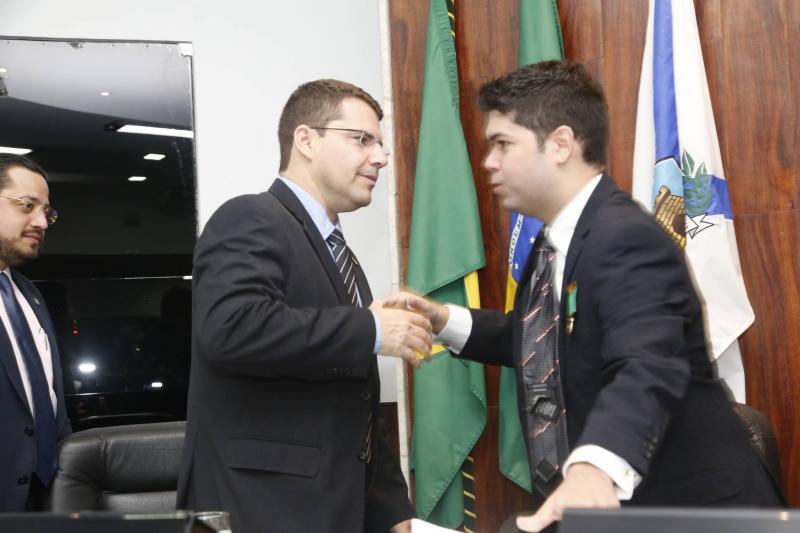 Rogerio Pinheiro e Mauro Benevides Neto