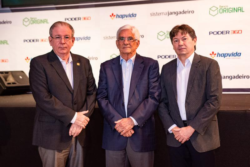 Ricardo Cavalcante, Assis Machado e Edgar Gadelha