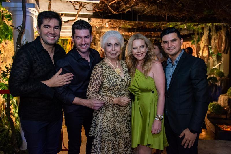 Itaque Figueiredo, Paulo Benevides, Alodia Guimaraes, Branca Mourao e Paulo Rodrigues