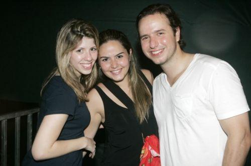 Katherine Brasil, Luciana Rola e Marcio Feitoza