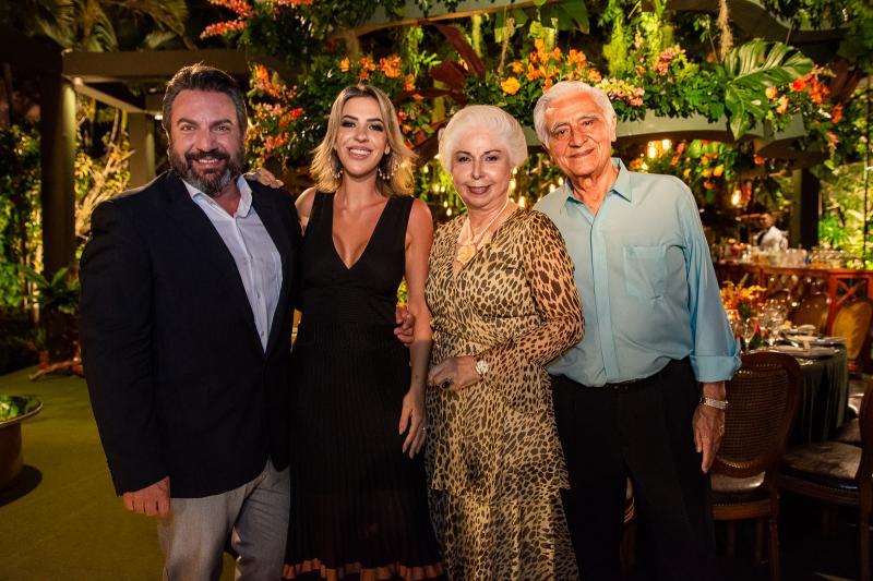 Mario Sergio Garcia, Renata Garcia, Alodia Guimaraes e Paulo Guimaraes