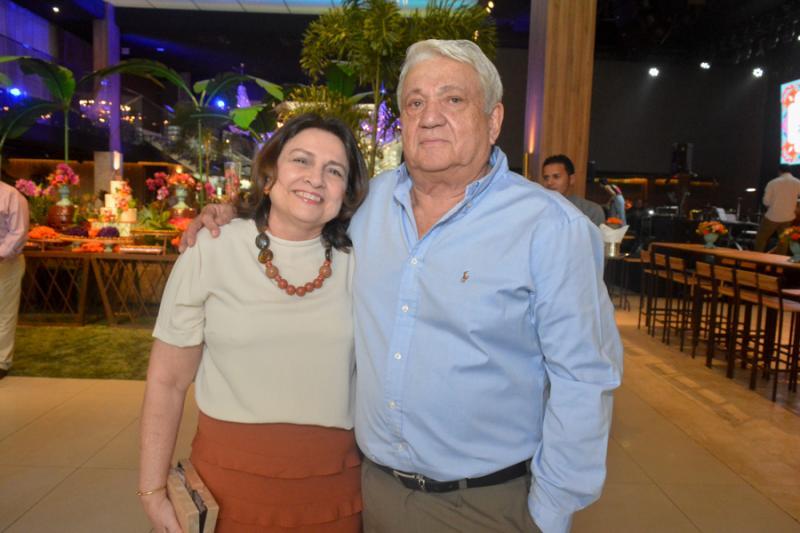 Ludimila e Jose Carlos Parente