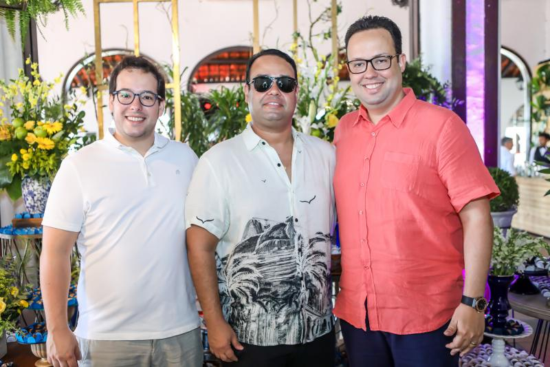 Gabriel, Rafaele e Daniel Joca