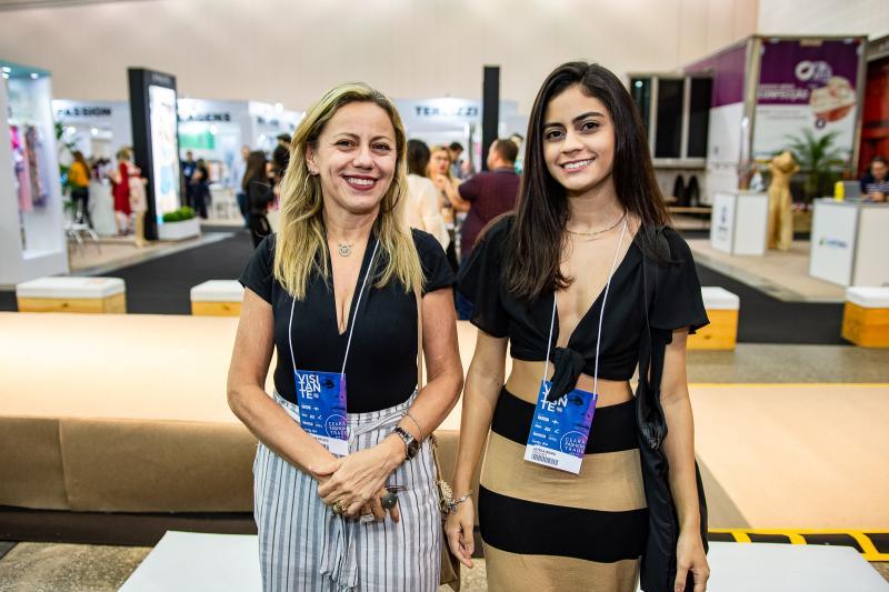 Marilva Macedo e Leticia Ingrid