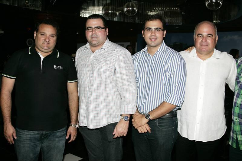 Patriolino Dias, Luciano Neto, Leonardo e Luciano Cavalcante