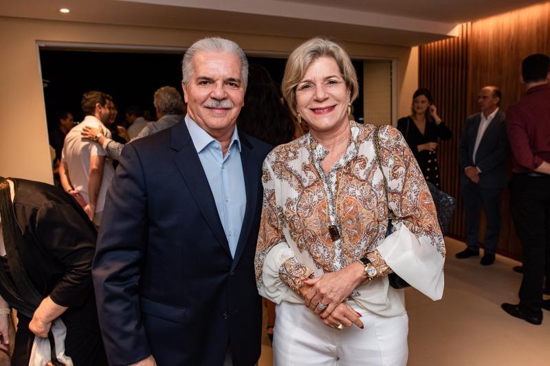 Pio Rodrigues e Stella Rolim