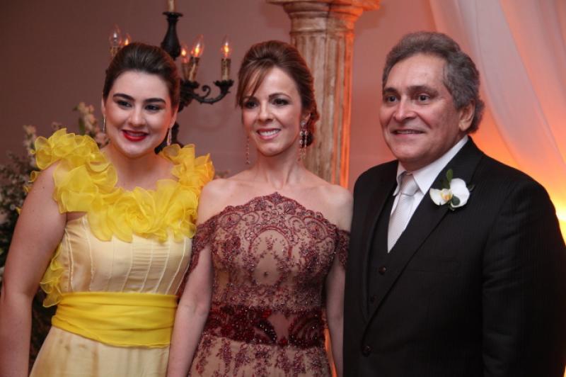 Lia Pinheiro, Karizia e Luiz Pontes