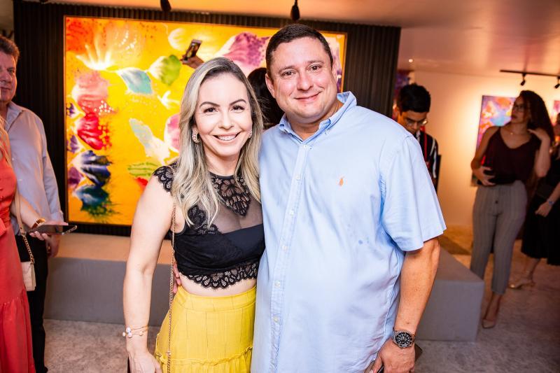 Ingrid e Marcelo Romero