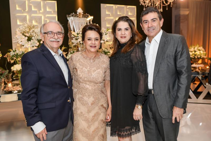 Ednilton e Leninha Soares, Isabel e Alexandre Pereira