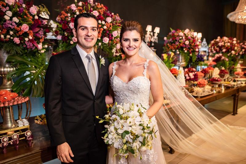 Jose Carlos Machado e Isabele Studart