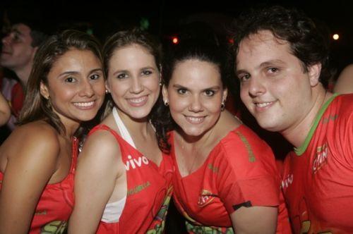 Marcela Oliveira, Ana Paula Rocha, Marina Carvalho e Daniel Aragao