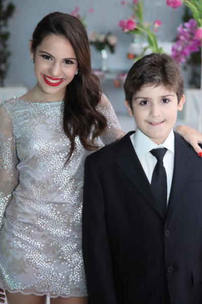 Nicole e Marco Antonio Vasconcelos