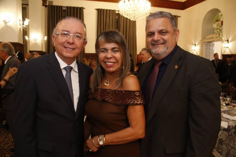 Antonio Jose Melo, Selma Cabral e Jorge Bagdeve