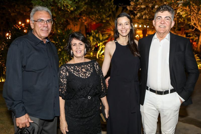 Esdras Guimaraes, Nelma Figueiredo, Rafaela Veras e Jaime Leitao