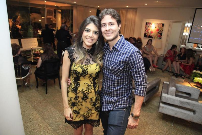 Jessica Bezerra e Fradique Ventura