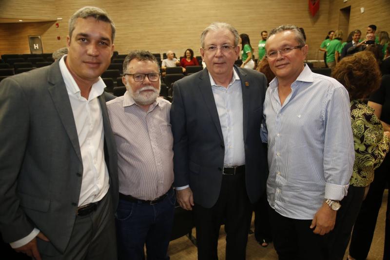 Mark Augusto, Marcos Albuquerque, Ricado Cavalcante e Eulalio Costa