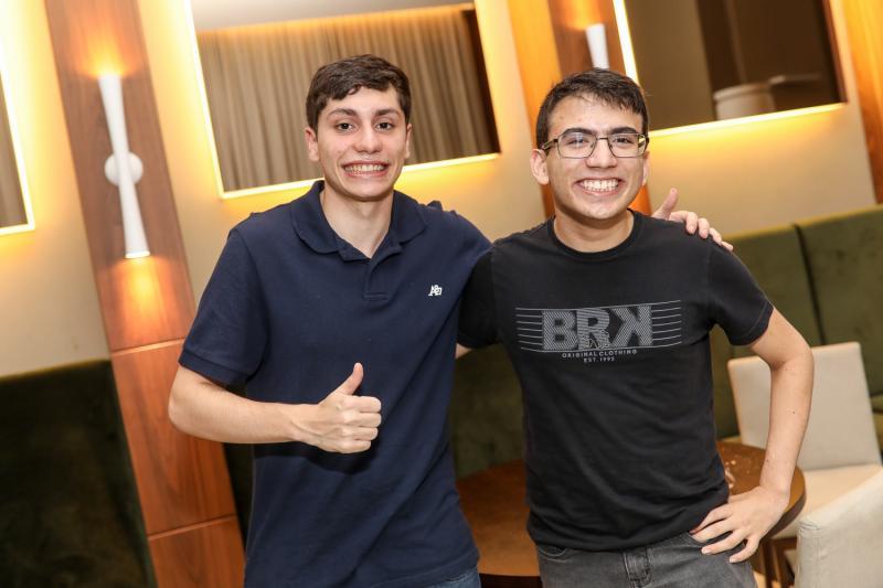 Lucas Coimbra e Davi Barbosa