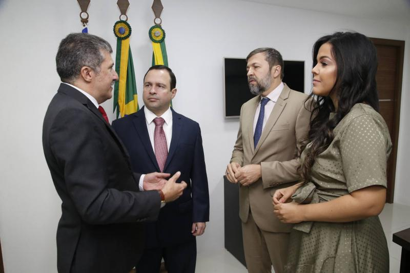 Antonio Henrique, Igor Barroso, Elcio Batista e Priscila Costa