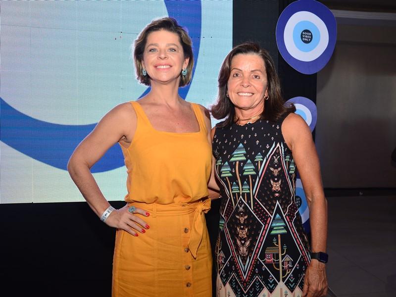 Cristina Wolff e Hedla Lopes