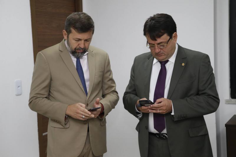 Elcio Batista e Benigno Junior