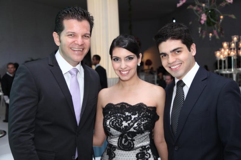 Gustavo Serpa, Carla Laprovitera e Pedro Garcia
