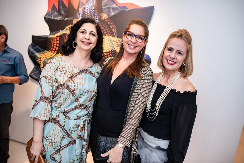 Ana Maria Jereissati, Marcia Andrea e Teresa Ximenes