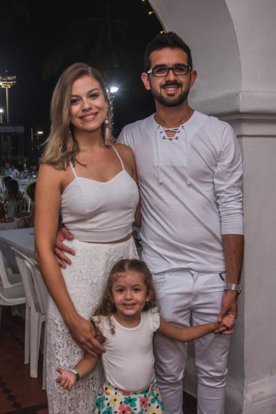 Gabriele Crepaude, Maria Luiza e Vitor Hugo