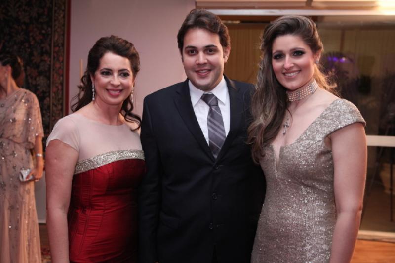 Marcia Andrea, Bruno e Rebeca Bastos