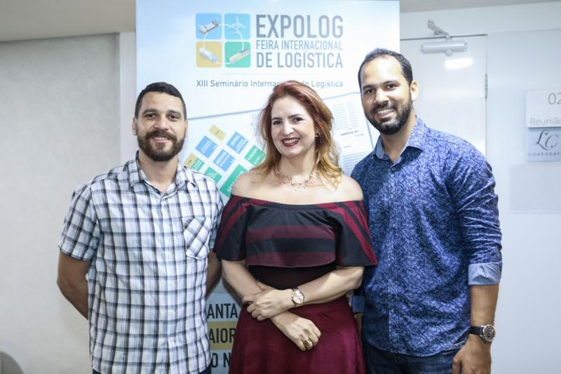 Marcelo Gurgel, Enid Camara e Carlos Dourado