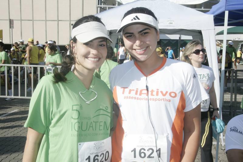 Natalia Pontes e Rebeca Holanda