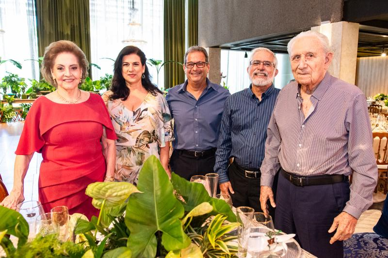 Norma Bezerra, Marcia Gomes de Matos, General Gomes de Matos, General Manoel Theofilo e Humberto Bezerra