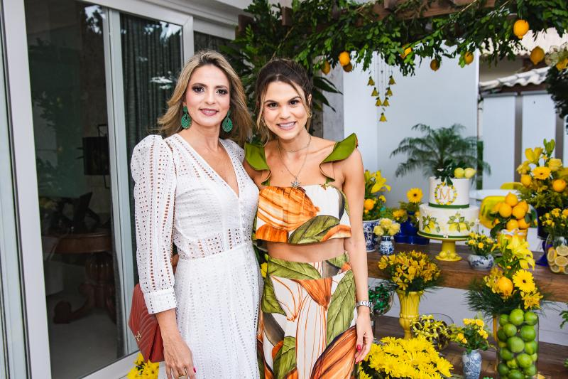Michelle Aragao e Mariana Pinto