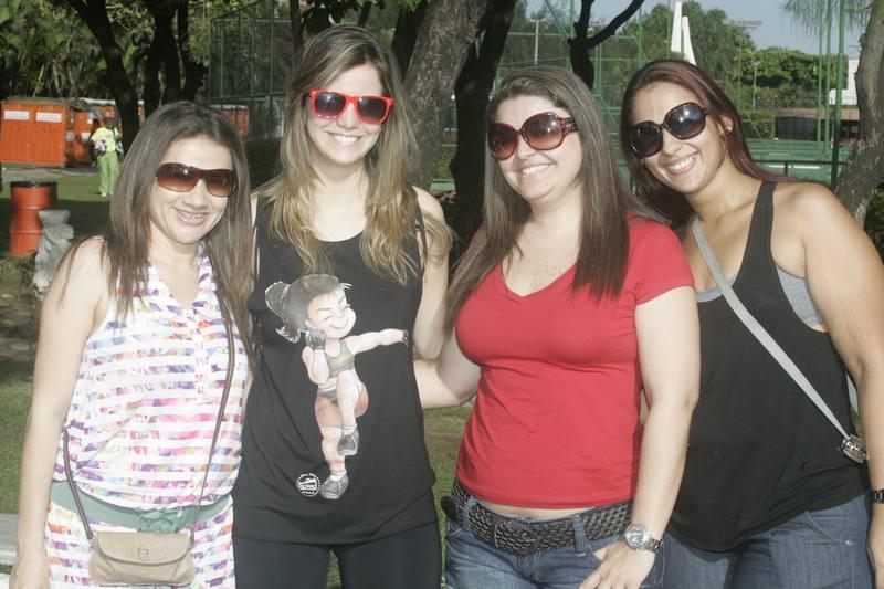 Sandra Santos, Mirna Rideo, Marcia Brasil e Marcia Martins