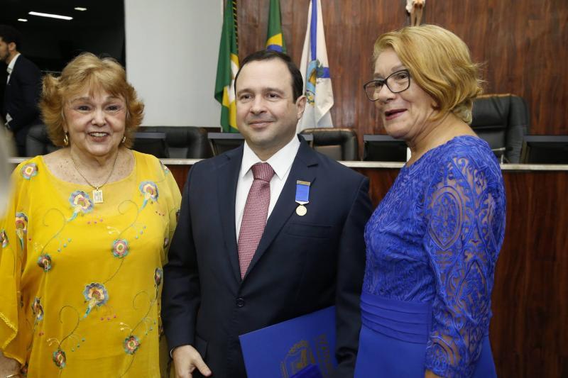 Ines Cabra, Igor Barroso e Euzinha Oliveira