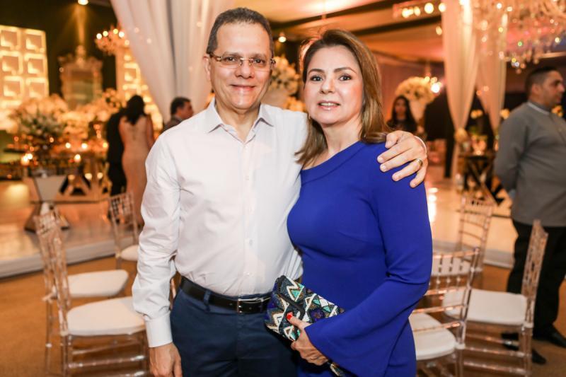 Claudio Freire e Lourdinha Cavalho