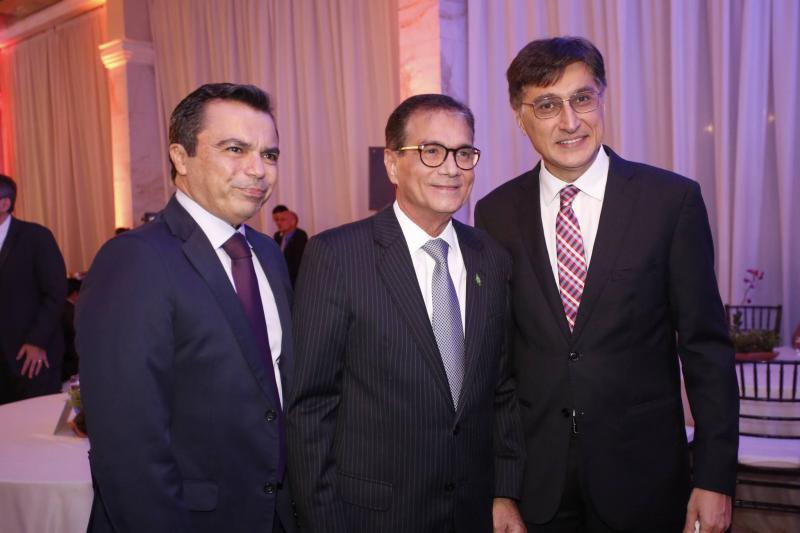 Juvencio Viana, Beto Studart e Hugo Figueiredo