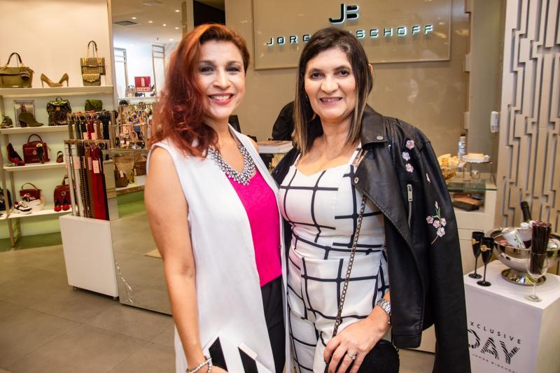 Patricia Porto e Luciana Ribeiro