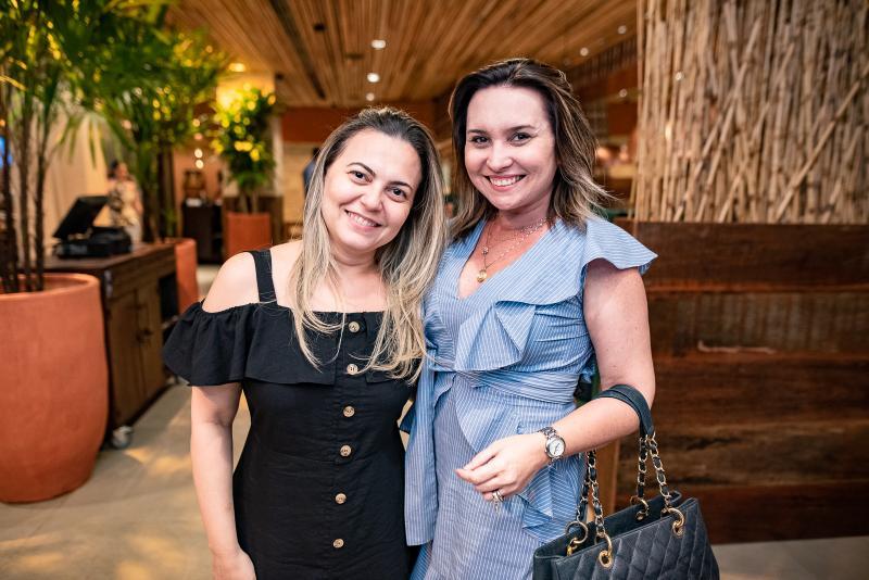 Tatiana Oliva e Socorro Medeiros