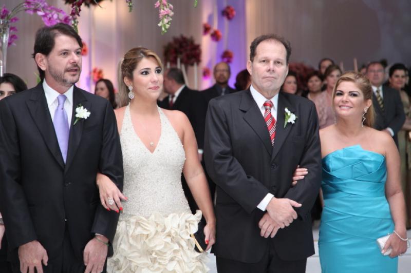 Cid Gomes e Maria Celia, Julio Ventura e Cristina Lima